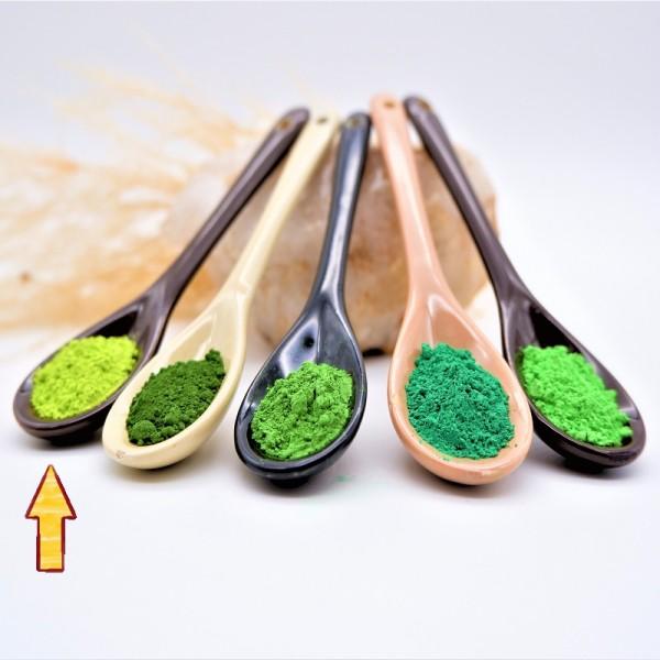 Lehmwelt Pigment Lindgrün