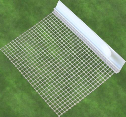 Rapidolehm Anputzleiste mit Gewebe 6 mm, 2,60 m lang