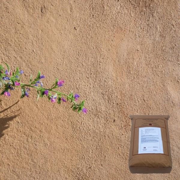 Rapidolehm Kalkputz in historischer Lehmoptik 25kg Sack